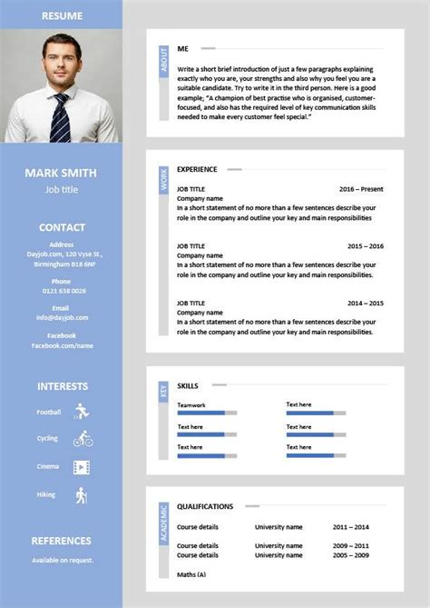 Eye Catching Resume by Cv Template Designs Resume Layout Font Creative