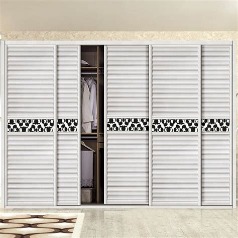 customized closet doors customized wall mounted 3 track sliding closet door