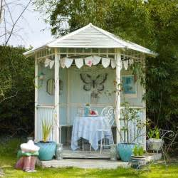 vintage style garden gazebo summer decorating ideas