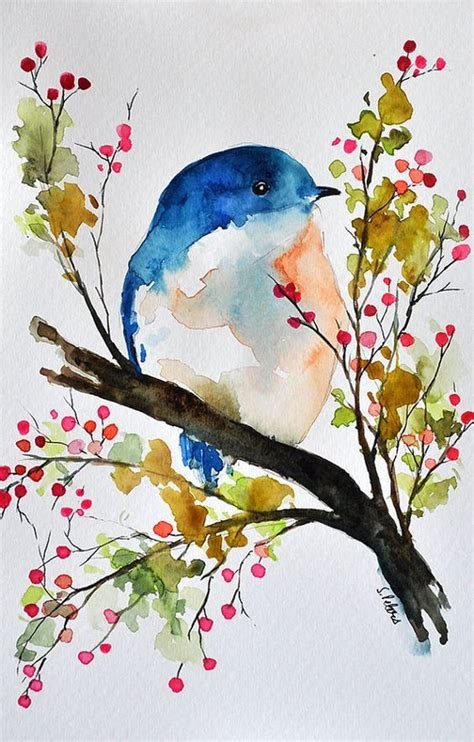 best 25 watercolor bird ideas on watercolor painting inspiration and bird drawings