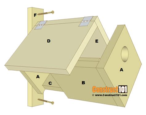 house plans with material list simple bird house plans joy studio design gallery best design