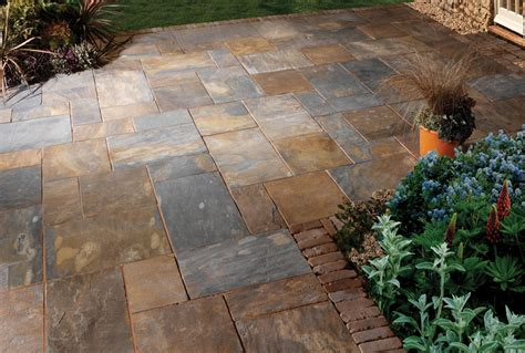 Rustic Patios Pictures Slate Rusty Morgan Supplies Gloucester