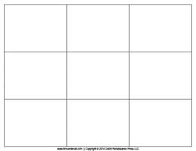 Template For Flash Cards Free by Tim De Vall Comics Printables For