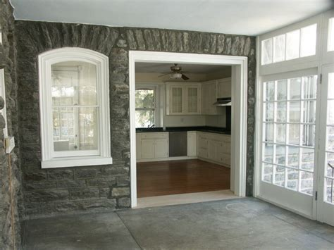 Window Treatments For Enclosed Porch by Cased Opening Traditional Porch Philadelphia By