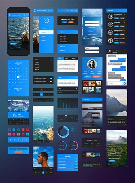ios app design kit developing ios app flat ios ui kit design share