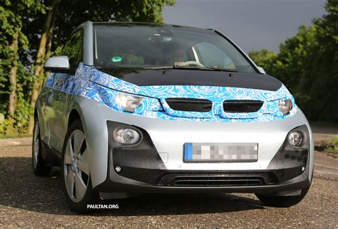 different car models bmw i3 production car sighted two different models image