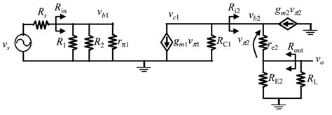 transistor lifier small signal analysis analog bjt small signal analysis ignoring current sources electrical engineering stack exchange