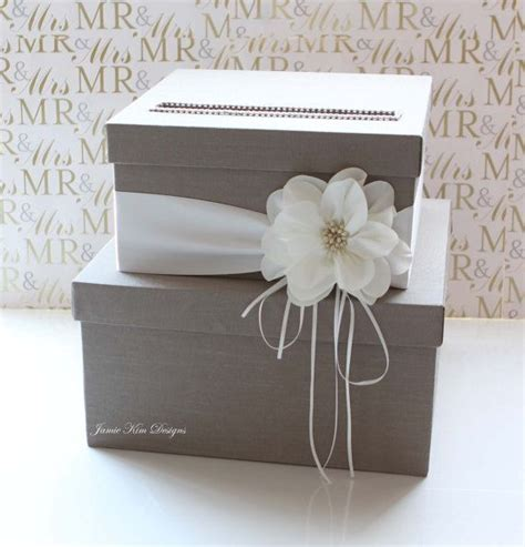 Wedding Box Diy by Wedding Card Box Wedding Money Box Gift Card Box Custom