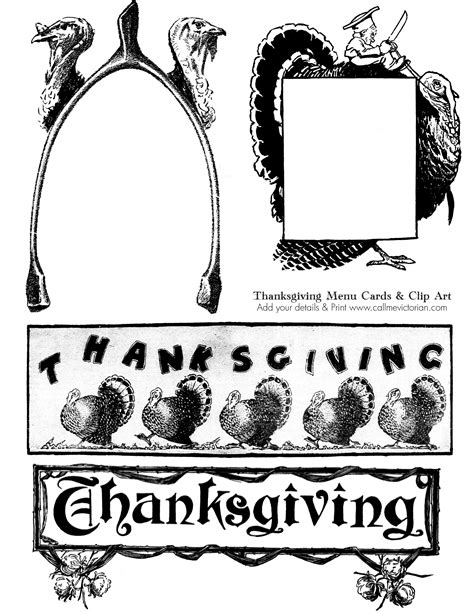 printable vintage thanksgiving cards thanksgiving vintage clip art clipartxtras