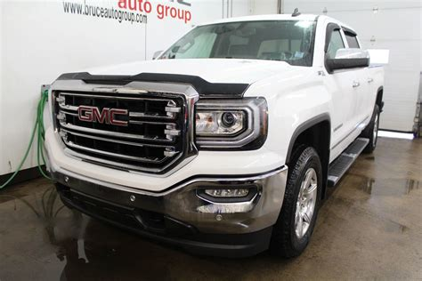 New 2018 GMC Sierra 1500 Z71 SLT 5.3L 8 CYL AUTOMATIC 4X4 CREW CAB in Middleton   G18065