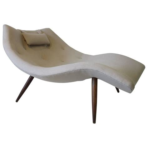 curved chaise lounge indoor rare adrian pearsall chaise lounge chair for sale at 1stdibs
