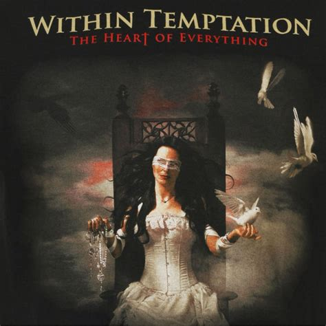 Within Temptation Tshirt within temptation album t shirt black m clothing