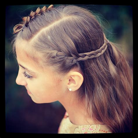 hairstyles braid games prim s bow braid tieback catching fire the hunger