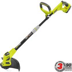 home depot paint trimmer ryobi one 18 volt lithium ion hybrid electric cordless