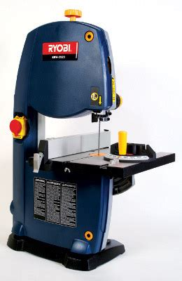 bench top bandsaw reviews ryobi ebw2523 bandsaw review machinery