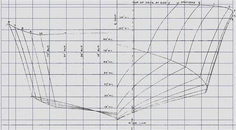 pt boat power pt boat bos elco plan 3000 lines plan frame stations
