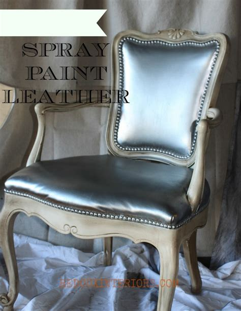 Spray Paint Leather Chair Leather Sofa Paint Spray