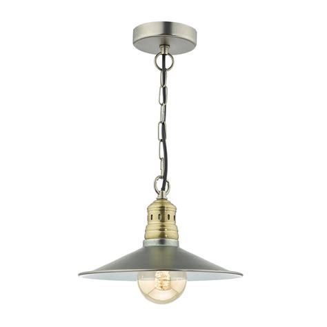 Single Pendant Light Dar Lighting Esra Single Light Ceiling Pendant In Antique