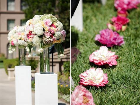 Backyard Wedding Flowers Need Ideas For Inexpensive But And Aisle