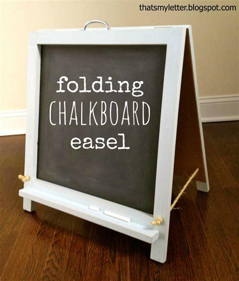 diy chalkboard that s my letter diy tabletop chalkboard easel