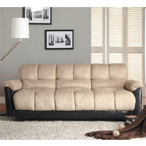 homelegance futon microfiber futons bm furnititure