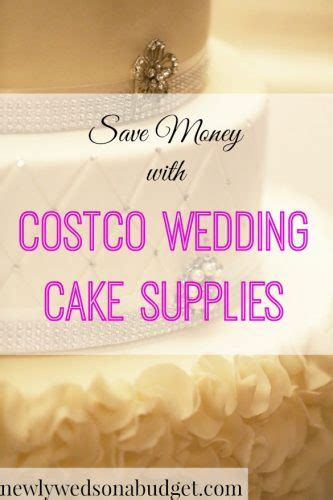 Wedding Cakes From Costco by Save Money With Costco Wedding Cake Supplies Newlyweds