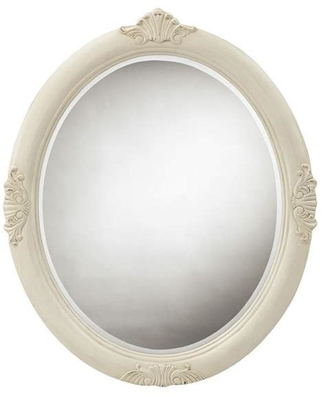 framed oval mirrors for bathrooms winslow oval decorative mirror traditional bathroom