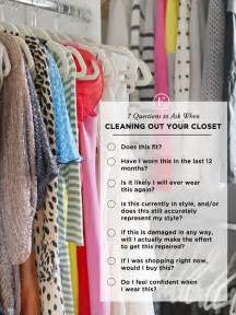 7 questions to ask when cleaning out your closet the