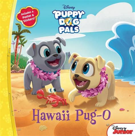 two s a crowd pug pals 1 books hawaii pug o disney books disney publishing worldwide