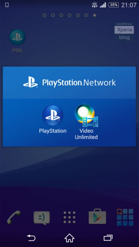 psn apk playstation network app now available to xperia