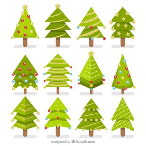 pack de 225 rboles de navidad en dise 241 o plano descargar