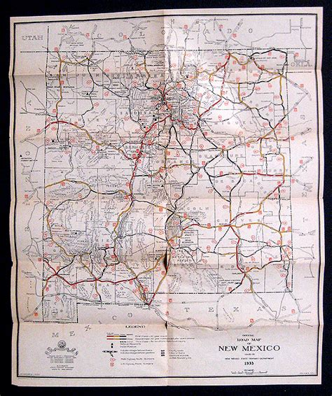 road map of nm home page margolis moss abaa ilab books prints