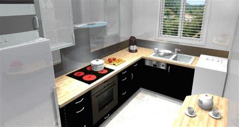 Petite cuisine aménagée   Cuisine en image