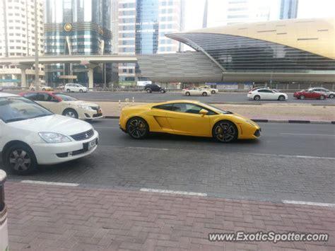 Lamborghini Car Dubai Lamborghini Gallardo Spotted In Dubai United Arab