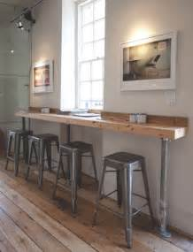 Wall Bar Table 12 Coffee Shop Interior Designs From Around The World