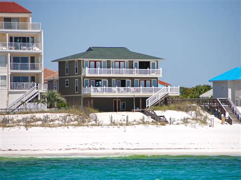 Destin Luxury Vacation Homes Destin Florida Usa Gulf Front 4 Bedroom Luxury Vacation Home On The Beachside Bungalow