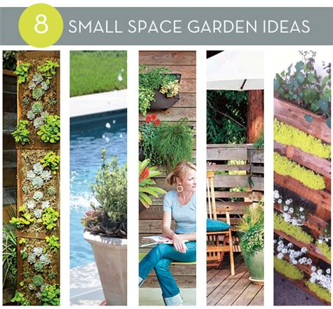 Roundup 8 Diy Small Space Garden Ideas 187 Curbly Diy Ideas For Small Garden Spaces