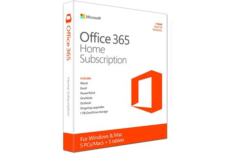 microsoft office 365 home premium 5 users 1 year ireland