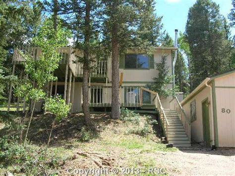 80 glenwoodlane woodland park colorado 80863 foreclosed