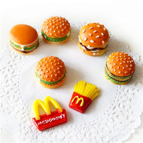 magnet cuisine moe hamburger creative 3d stickers