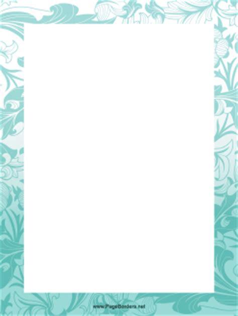 blue plant border