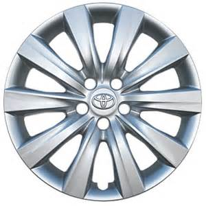 Toyota Wheel Covers 11 12 13 Corolla Hubcap 16 Silver Replacement Genuine