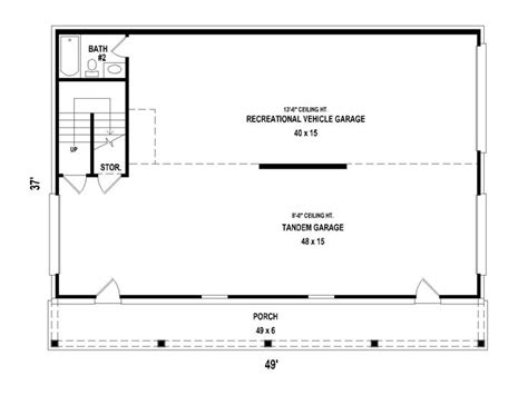 carriage rv floor plans carriage house plans carriage house plan with rv garage