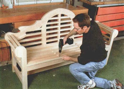 lutyens bench plans the lutyens garden bench finewoodworking