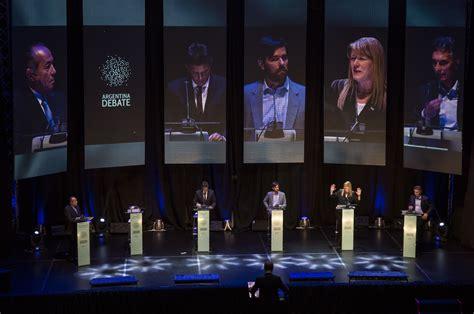 argentina debate debate presidencial ncn
