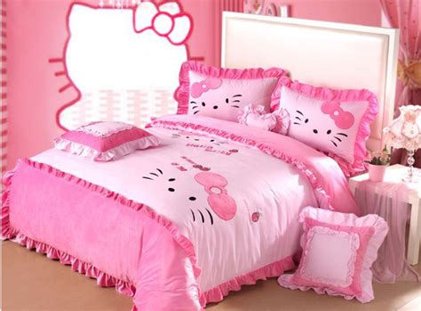 popular hello kitty queen comforter set buy cheap hello
