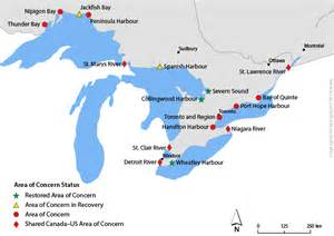 great lakes canada map environment and climate change canada environmental