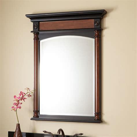 32 quot haywood vanity mirror cherry traditional