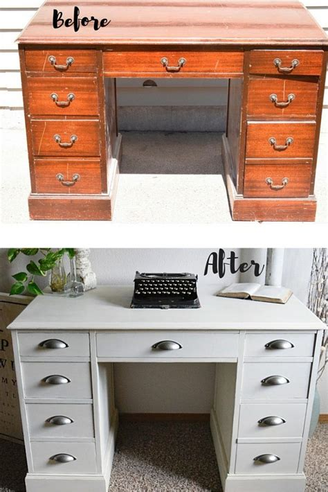 Computer Desk Makeover by 25 Best Ideas About Repurposed Desk On Shutter Projects Window Shutters Decor And