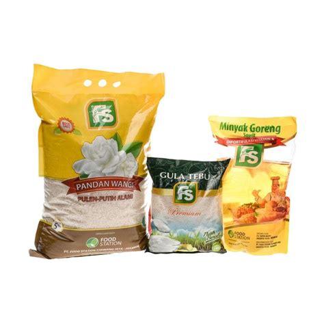 Beras Rojolele Fs Premium 5kg jual paket sembako premium fs fs melati pandan wangi